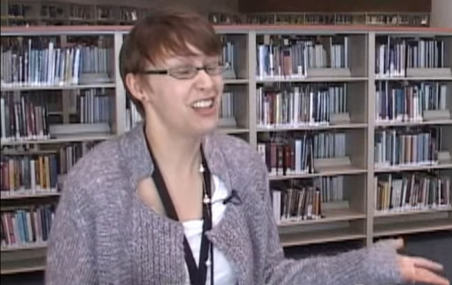 Kerri Smith became a school librarian after seeing how the right books could bring a Columbine survivor out of his shell.