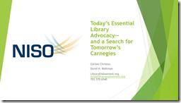 NISCO presentation cover page